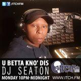 DJ Seaton - U BETTA KNO' DIS - 39