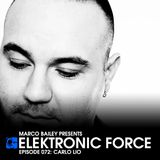 Elektronic Force Podcast 072 with Carlo Lio