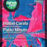 Matias Carafa @ Natural Deep 15.01.2014