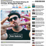 Dubspot Podcast: Dub Gabriel (Destroy All Concepts) Raggabass Mixtape