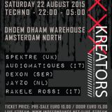 Rakele Rossi  -  Kreators Dhoem Dhaam Warehouse  -  22nd August 2015