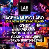 Q'hey Live MIx at AGEHA MUSIC LABO, ageHa, July 2017
