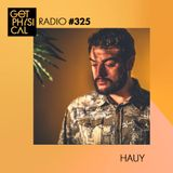 Get Physical Radio #325 mixed by Hauy