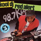 DJ Red Alert South Bronx Remix & KRS Freestyle  98.7 KISS FM