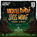 Michael Bibi - Live @ RIOT, Keops (Cordoba, Argentina) 15-sep-2018
