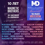 Musical Decadence Radio - Magnetic Brothers 10th Year Anniversary guest mix by Ewan Rill