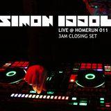 Simon Iddol - LIVE @ HOMERUN011 (3AM closing set, Fogasház / Budapest)