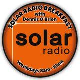 LISTEN AGAIN TO SOLAR RADIO BREAKFAST 22/SEPT/2016
