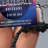 DJ SANDI HOTROD LIVE AT SLEAZEBALL AUSTRALIA IN BRISBANE JULY 2018