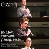 Ben Lange, David Green, & Andrew McKay on Spiritual Disciplines 1.30.18