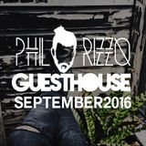 GuestHouse September 2016 (Mixed by Phil Rizzo)