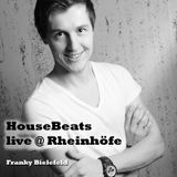 HouseBeats - Live at Rheinhöfe - April 1st