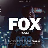 fox - pump up show - beograd