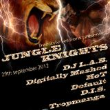 Freestyle Sessions Presents Jungle Knights V.06 - Dj L.A.B.  29th september 2012