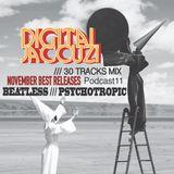 November Best Releases Part.1 /// Digital Jaccuzi 11 Beatless Mix