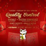 Quality Control @ Keybar NYC