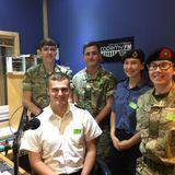 Kay interviewed Ben, Zoe, Sarah, Daniel & Ross from the Folkestone & Hythe Sea & Royal Marine Cadets