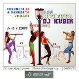 DJ KUBIK SOUL JAZZ MIX at MAZA CAFE (BIARRITZ) APEROMIX 26 - 07 -2014