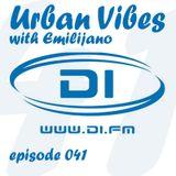 Emilijano - Urban Vibes 41 [DI.FM] - December 2014