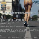 Rebel Mix #95 - ft Sebastian Albrecht [DE, Park Recordings] & Esther Benoit - Sept21.2013