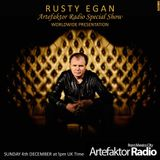 Artefaktor Radio #SpecialShow Rusty Egan's WTTDF World Wide Presentation.