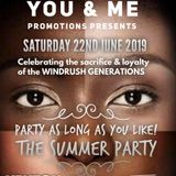 YOU & ME PROMOTIONS PRESENTS PARTY AS LONG AS YOU LIKE 22ND JUNE 2019 FT D-MAC OP T-REG & MARLOW