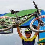 Jenny Rissveds tog guld i OS
