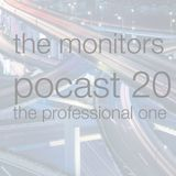 The Monitors Public Podcast 20 - the professional one