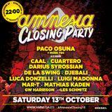 Cuartero - Live at Amnesia Closing Party (Ibiza) - 13-Oct-2018