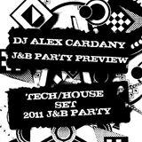 Alex Cardany Dj-Preview J&B Party