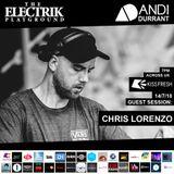 Electrik Playground 14/7/18 inc. Chris Lorenzo Guest Session