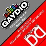 DECADANCE RADIO - SAT 01 SEP 2012