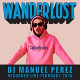 DJ Manuel Perez live at Wanderlust, Paris Feb 2016