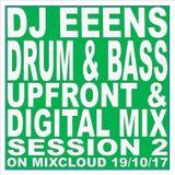 Drum & bass Session 2  (Upfront & Digital Mix) 19/10/17