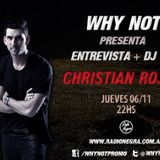 Christian Rojas DJ set @ WHY NOT #10