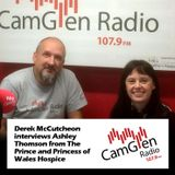 Derek McCutcheon interviews Ashley Thomson from The Prince and Princess of Wales Hospice, 6 Jun 2017