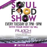 The Soul Food Gospel Radio Show with DjVal. Special Tribute to PK