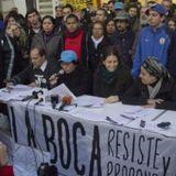 Natalia Quinto de La Boca Resiste y Propone