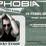 Christian Craken - PHOBIA 016 @ Vibes Radio Station 19 February 2012
