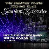 Live @ The Source Radio Techno Club 7-1-15