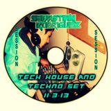 Tech-house & Techno Set Mixed By Sebastian Rodriguez (11-3-13)