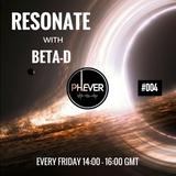 Resonate Radio Show #004 16.06.2017 with Beta-D on Phever.ie