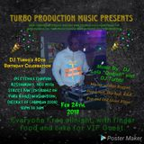 DJ Turbo 40th B'Day Party Promotion Mix