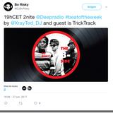 @Deepradio #beatoftheweek guest dj Trick Track