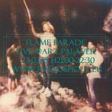 Ventesima puntata, SPECIALE Flame Parade live @Radioshout, Art Palaver (seconda stagione)