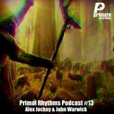 Primate Recordings presents 'PRIMAL RHYTHMS' Edition 13, featuring ALEX JOCKEY & JOHN WARWICK