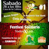"Nacion Reggae: 1er Festival ""Tiempos de Reggae"" Todos x Leti"
