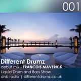 Francois Maverick Liquid Drum and Bass Show. Different Drumz DNB Radio