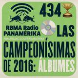RBMA Radio Panamérika 434 - Las campeonísimas de 2016: álbumes