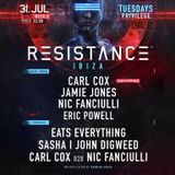 Nic Fanciulli LIVE from Carl Cox's big Birthday celebration at Resistance IBIZA 31-07-2018